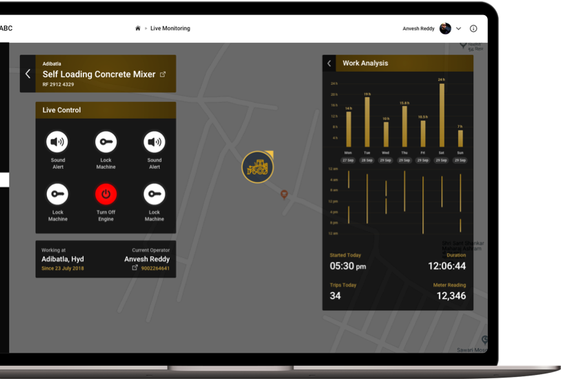 vehicle management system - Eh-tracker